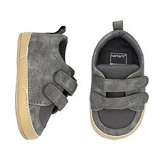 Baby Boy Carter's Gray Sneaker Crib Shoes