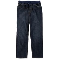 Boys 4-12 Carter's Pull On Denim Pants