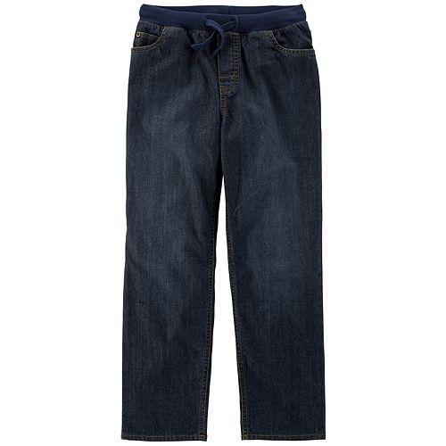 Boys 4-12 Carter's Pull On Denim Pants