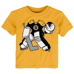 Toddler Boston Bruins Goalie Dreams Tee