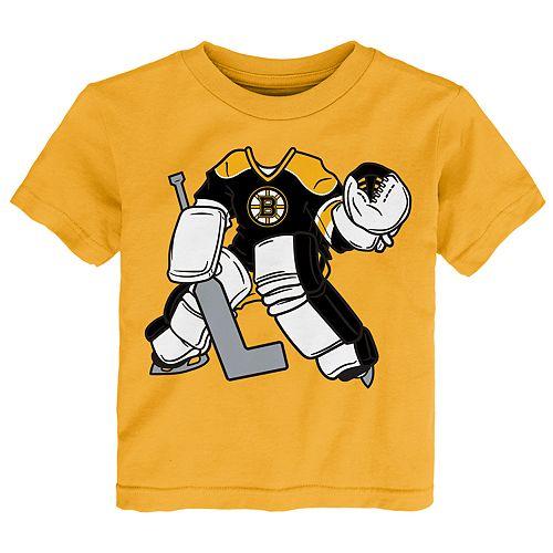 Toddler Boston Bruins Goalie Dreams Tee
