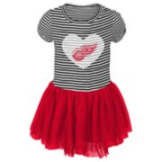Baby Girl Detroit Red Wings Ice Queen Tutu Dress