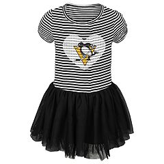 Toddler Girl Pittsburgh Penguins Ice Queen Tutu Dress