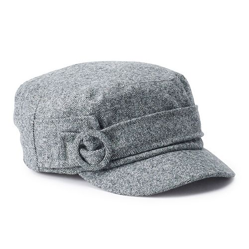 Women's Apt. 9® Herringbone Cadet Hat