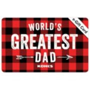 World's Greatest Dad E-Gift Card