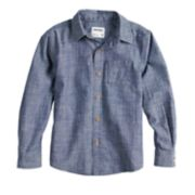 Boys 4-12 SONOMA Goods for Life? Woven Button Down Chambray Shirt