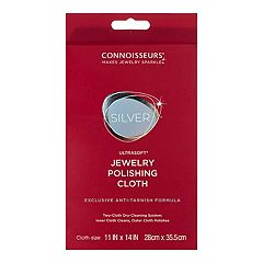 Connoisseurs Extra Large Silver Jewelry Polishing Cloth