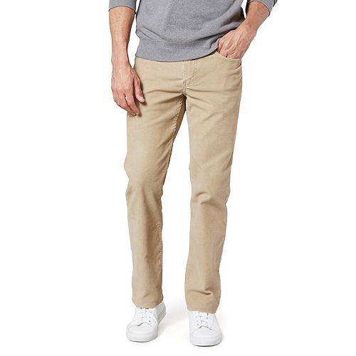Men's Dockers® Jean Cut Straight-Fit Corduroy Pants D2