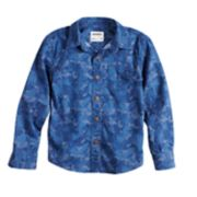 Boys 4-12 SONOMA Goods for Life? Camouflaged Button Down Shirt