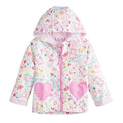 Toddler Girl Peppa Pig Rain Jacket