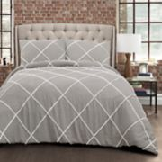 Lush Decor Diamond Pom Pom 3-piece Comforter Set
