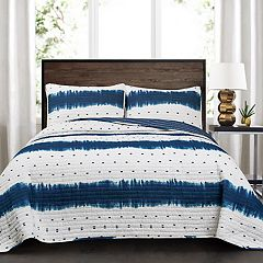 Lush Decor Jane Shibori 3-piece Quilt Set