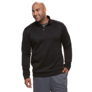 Big & Tall Tek Gear® Regular-Fit Performance Fleece Quarter-Zip Pullover