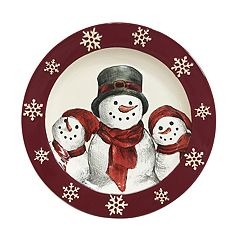 St. Nicholas Square® Yuletide Round Dinner Plate