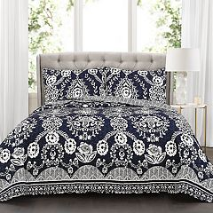 Lush Decor Rosetta Floral 3-piece Quilt Set