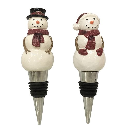 St. Nicholas Square® Yuletide 2-piece Bottle Stopper Set