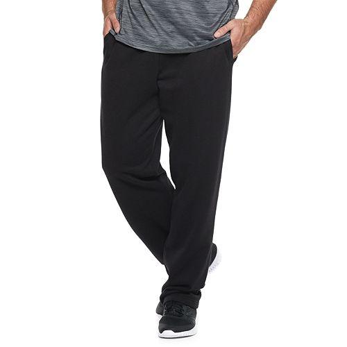 Big & Tall Tek Gear® Ultra Soft Fleece Open-Bottom Pants