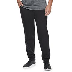 Big & Tall Tek Gear® Regular-Fit Ultrasoft Fleece Jogger Pants