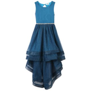 Girls 7-16 Speechless High-Low Jeweled Bodice Dress