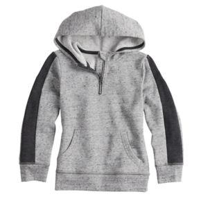 Boys 4-12 SONOMA Goods for Life? Quarter Zip Pullover Hoodie