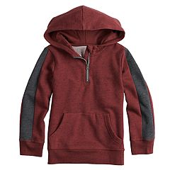Boys 4-12 SONOMA Goods for Life™ Quarter Zip Pullover Hoodie