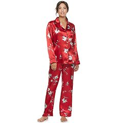 Women's Apt. 9® Satin Pajama Set