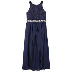 Girls 7-16 Speechless Jeweled Bodice Maxi Dress