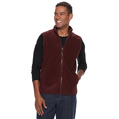 Men's Croft & Barrow® Classic-Fit Textured Fleece Vest