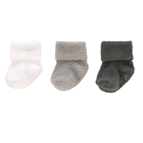 Baby Carter's 3-pack Chenille Cuffed Socks