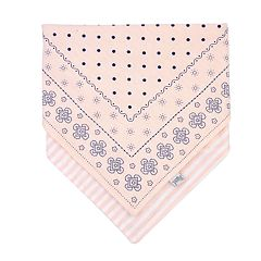 Baby Girl OshKosh B'gosh® Bandana Print & Striped Reversible Drool Bib
