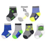 Baby / Toddler Boy OshKosh B'gosh® 7-pack Alien & Outer Space Crew Socks