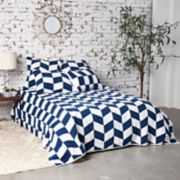 Carol & Frank Herringbone Patch Quilt