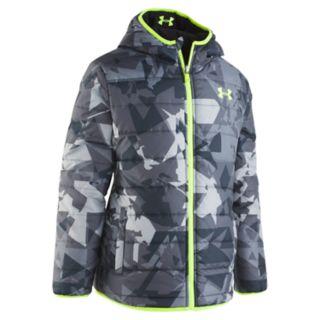 Boys 8-20 Under Armour Print Reversible Jacket