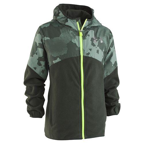 Boys 8-20 Under Armour Print North Rim Microfleece Jacket