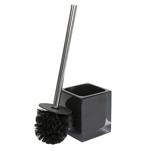 Bath Bliss Infused Cube Design Toilet Brush Set