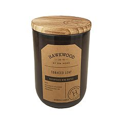 Hawkwood Tobacco Leaf 13.48-oz. Wine Candle Jar