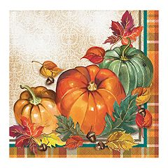Harvest Beverage Paper Napkins - 16-ct.