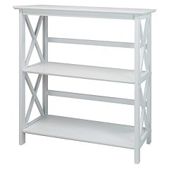 Casual Home Montego 2-Shelf Bookcase