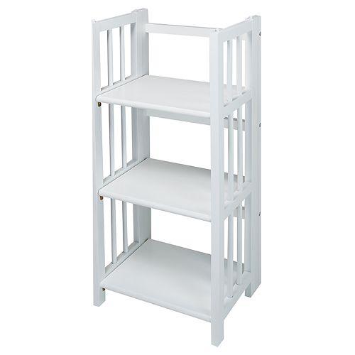Casual Home 3-Shelf Foldable Bookcase