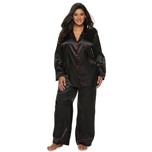 Plus Size Apt. 9® Satin Pajama Set