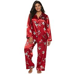 Plus Size Apt. 9® Satin Pajama Set