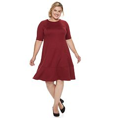 Plus Size Suite 7 Fit & Flare Dress