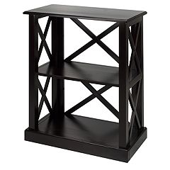 Casual Home Bay View 2-Shelf Bookcase