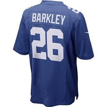 size 40 4223b f3703 Men's Nike New York Giants Saquon Barkley Jersey