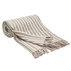Carol & Frank Bengal Stripe Throw