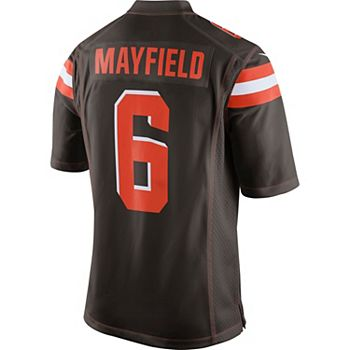 info for 77f8c d8b78 Men's Nike Cleveland Browns Baker Mayfield Jersey