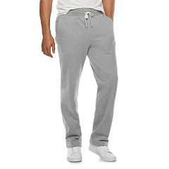 Men's SONOMA Goods for Life™ Supersoft Fleece Open-Hem Pants