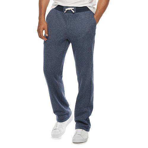Men's SONOMA Goods for Life™ Supersoft Fleece Open-Hem Pants