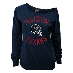 Juniors' Houston Texans  Slouch Boat Neck Top