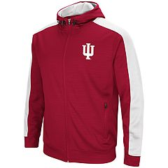 Men's Indiana Hoosiers Setter Full-Zip Hoodie